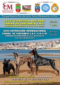 XXXV Exposición Nacional Canina de Cantabria (C.A.C.) (1 de Julio 2017)